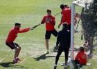 Mini-pretemporada para Gabi, Thomas, Gámez y Vietto
