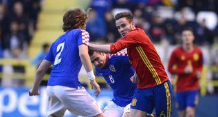 Gafe en el Atleti: Saúl esguince, y Lucas, fractura vertebral