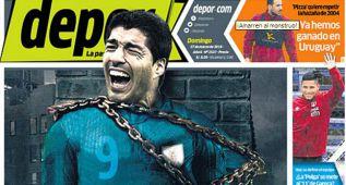 La selección peruana ya sabe cómo parar a Luis Suárez