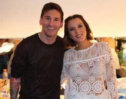 """Messi, aclamado en el teatro Apolo: """"¡Sos el número uno!"""""""