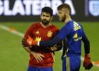 Lista de la afición para la Euro: De Gea titular y Costa fuera
