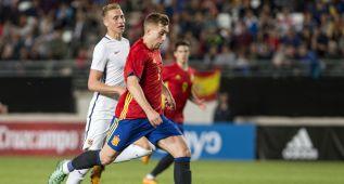 Deulofeu decide ante 15.000 espectadores en Murcia