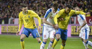 La Suecia de Ibra no pudo con una Chequia endeble atrás