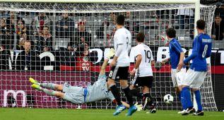Alemania aplastó a Italia y Kroos abrió la cuenta con un gran gol