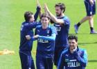 Italia busca hoy confirmar su nivel contra Alemania