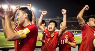 China salva el 'match-ball' y sigue aspirando al Mundial