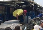 9 hinchas ecuatorianos heridos en accidente en Colombia