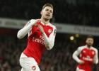 En Inglaterra colocan a Ramsey como el recambio de Iniesta