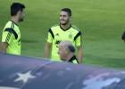 Nueve atléticos han debutado en su selección con Simeone