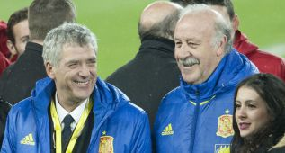 """Villar: """"Por el bien del fútbol deseo que Del Bosque siga"""""""