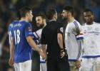 Diego Costa, un partido de sanción por conducta impropia