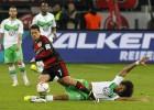 El Wolfsburgo se queja del poco fair-play de Chicharito