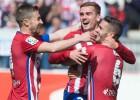 Griezmann logra su mejor racha goleadora en el Atlético