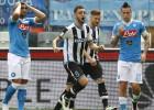 El Nápoles pierde y se deja medio Scudetto ante el Udinese