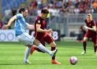 El Roma destroza al Lazio en un derbi capitalino sin Totti