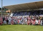 Los veteranos del Real Madrid homenajearon a Juanito