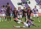 El Valladolid rescata un punto en el descuento ante el Almería