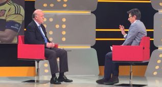 """Del Bosque: """"No estoy solo en la defensa de Diego Costa"""""""