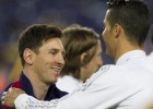 Messi felicitó personalmente a Cristiano tras el Clásico