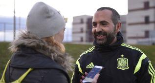 """Pedro López: """"Estas Sub-19 saben que éste puede ser su año"""""""