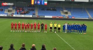 La Sub-19 se estrena con un brillante triunfo ante Italia
