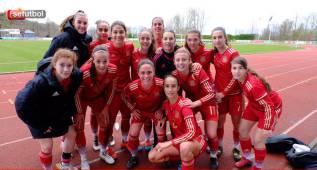 Las Sub-19 golean a Irlanda del Norte y avisan a Dinamarca