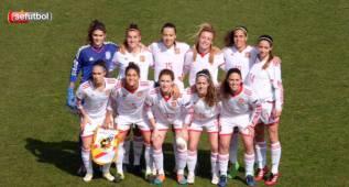 España golea a Dinamarca y estará en el Europeo Sub-19