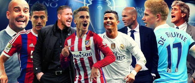 Sorteo Champions 2016 en vivo y en directo online: semifinales
