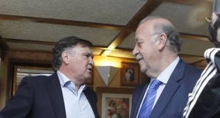 """Camacho cree que Del Bosque seguirá tras """"una gran Euro"""""""