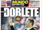 Único objetivo en la prensa de Barcelona: ganar el doblete