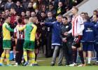 La FA investiga a Sunderland y Norwich por la pelea