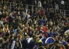 Colas en Orriols para ir a animar al equipo a Granada