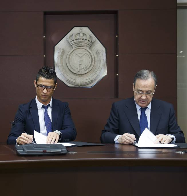 Image result for ronaldo contract extension