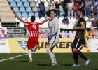 Un gol de Uche en el descuento saca al Almería del descenso