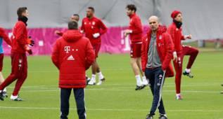 Robben y Badstuber, únicos ausentes antes de viajar a Madrid