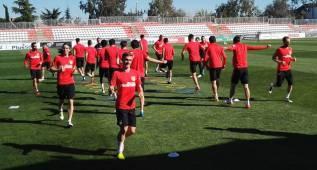 El Atlético se entrena sin Carrasco a dos días del Bayern