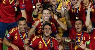 Koke y Thiago ganaron juntos la Eurocopa Sub-21 con España