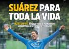 Sport: El Barça negociará la ampliación de Suárez