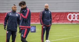 El Bayern entrena en Alemania y no lo hará hoy en el Calderón