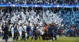 El Etihad Stadium pitó el himno de la Liga de Campeones