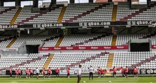 El Bayern se entrena en el estadio del Rayo Vallecano
