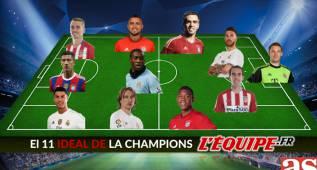 Los usuarios de L'Équipe eligen su once ideal de las semifinales