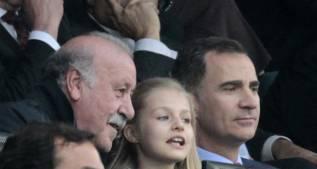 El Rey vio el Atleti-Bayern y el miércoles, al Real Madrid