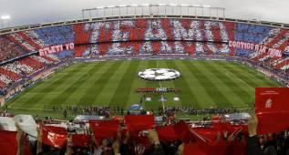Espectacular mosaico en el Calderón para recibir al Bayern