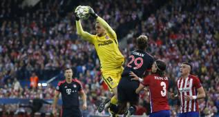 1x1 del Atlético: Saúl y Oblak se agigantan ante el Bayern