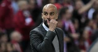"""Dardo de Guardiola: """"El césped no ha ayudado a nuestro juego"""""""
