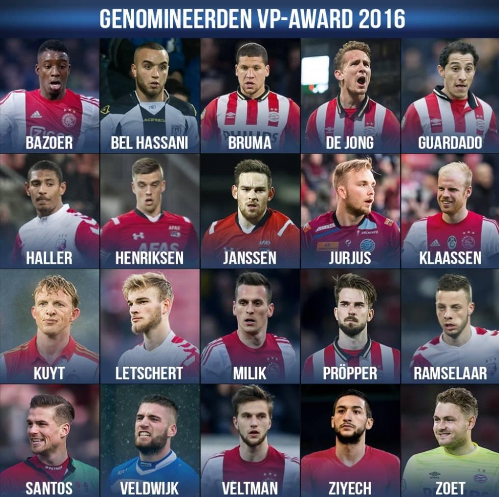 Liga holandesa   Christian Santos, nominado a mejor jugador de la Eredivise - AS.com