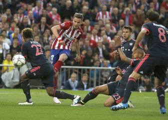 El gol de Saúl Ñíguez en imágenes