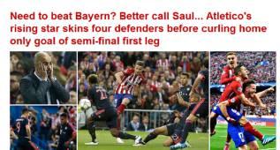 """La Prensa: """"¿Necesita ganar al Bayern? Llame a Saúl"""""""