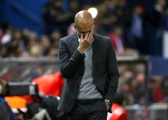 Pep sufre contra los españoles: cayó ante Atleti, Madrid y Barça